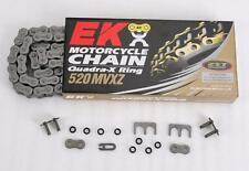 EK Chain - 520MVXZ-120/ME - 520 MVXZ Quadra X-Ring Chain, 120 Links - Pink