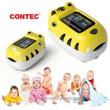 Pediatric Infant Neonate Fingertip Pulse Oximeter Spo2 Pr Blood Oxyge Meter Hr