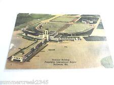Friendship International Airport Terminal Building Baltimore, MD. Postcard