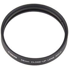 Canon Lens Close-up Lens Attachment 500D 58mm