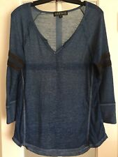 Almost Famous Blue long sleeve shirt - size Xl