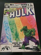 Marvel The Incredible Hulk  #267