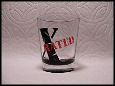 Shot Glass X Rated Or Roman Numeral 10 New Drink Barware Recipe 871