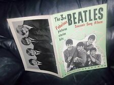 THE BEATLES 3rd SOUVENIR SONG ALBUM 1964 SHEET MUSIC BOOK MUSIC AND WORDS ACE