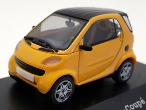 Herpa 1/43 Scale Model Car 070553 - Smart City Coupe - Yellow