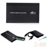 "USB 2.0 IDE 2.5"" External Hard Disk Drive HDD Case Box Enclosure Laptop Computer"
