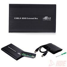 "USB 2.0 IDE 2.5"" External Hard Disk Drive HDD Case Box Enclosure Laptop Computer"