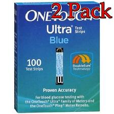 One Touch Ultra Blue Test Strips, 100ct, 2 Pack 353885009713A12508