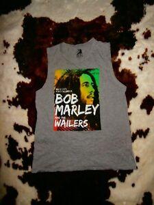 Bob Marley & THE WAILERS MUSCLE TANK SINGLET MAY 1974 Reggae KINGSTON JAMAICA