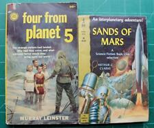 Four From Planet 5 Murray Leinster Sands of Mars Arthur C Clarke