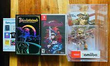 Bloodstained Nintendo Switch Kickstarter Backer Edition + Simon Belmont Amiibo !