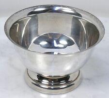 Vintage POOLE Silver Company 362 Fine Sterling Silver Bowl. Taunton, MA. RARE