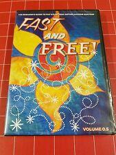 NEW Free Motion Machine Quilting Volume 0.5 Patsy Thompson Beginner DVD