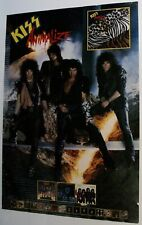 Kiss Original Animalize Polygram 1984 Promo Poster