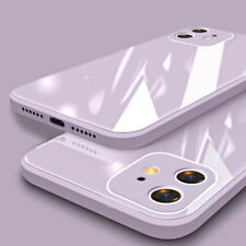Case For iPhone 12 11 Pro Max XS XR X 8 7 Shockproof Liquid Tempered Glass Cover