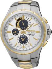 Seiko SSC560 SSC560P9 Coutura Mens Solar Watch Alarm Chronograph RRP $750.00