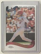 New listing 2002 Topps Chrome Albert Pujols #160 All-Star Rookie Cup Cardinals Baseball Card
