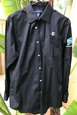 Hasbro Official Distributor Convention Dress Shirt Land's End Black 15x33 Medium