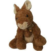 "Mary Meyer Sweet Rascals 9"" Kangaroo with Baby Joey Plush Stuffed Animal Brown"