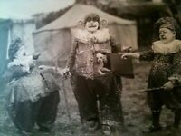 Circus, Clowns, Posters, Oddities, Vintage reprint Quality 8.50 x 11 photo 315