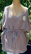 Women's Caramel Poncho, Sonoma, New with tags Large