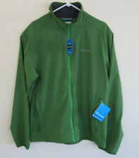 "New Mens Columbia ""Inca Rule"" Omni-Shield Water-resistant Softshell Jacket L"