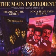 MAIN INGREDIENT Shame On The World / I Only NEW 70s 80s SOUL R&B CD (EXPANSION)