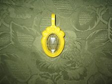 Vintage Little Fisher Price pretty purse vanity jewelry bracelet necklace yellow