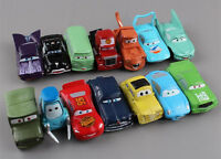 Disney PIXAR CARS Lightning McQueen Mater Sally Luigi Figures 14PCS Toy Model