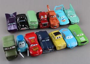 14PCS/set PIXAR CARS Lightning McQueen Mater Sally Luigi Figure Model Toy New