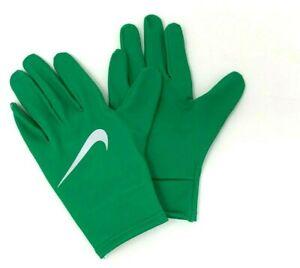 Nike Dri-Fit Running Gloves Women's Medium Lucky Green / Silver