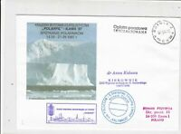Poland 1997 Arctic Antarctic Polar Expedition Snowscene Stamps Cover ref 23190