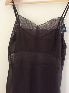 Brand New Next Lace Nightdress Brown Size 10