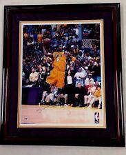 Kobe Bryant Signed 16 X 20 Auto Framed PSA/DNA COA LA Lakers Nice Signature