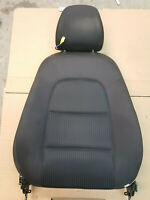 AUDI A4 B8 8K FRONT SEAT BACKREST CLOTH FABRIC WITH HEADREST
