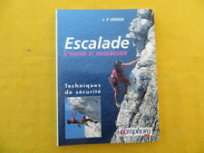 Escalade - s'initier et progresser - Verdier - 1999