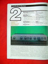 "Audiolab 8000A integrated amplifier test review ""Audio"" magazine 4/88"