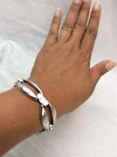 Beautiful Vtg Ottaviani Modernist  Sterling 925 Links Bracelet