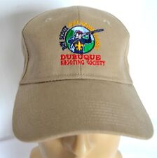 Boy Scout Hat Trap Shooting Classic Mens Dubuque Hunting Club Beige Baseball Cap