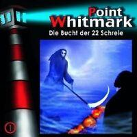 POINT WHITMARK - 01: DIE BUCHT DER 22 SCHREIE  CD NEU