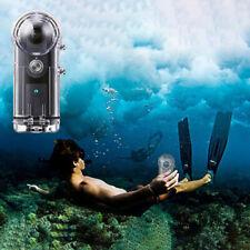 Camera Transparent Waterproof Housing Cover Case For RICOH Theta V/Theta S/SC360