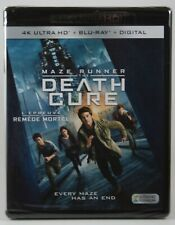 Maze Runner The Death Cure 4K Ultra HD  + Bluray + Digital NEW  Dylan O'Brien