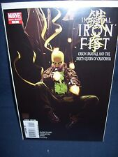 The Immortal Iron Fist Orson Randall and the Death Queen of California Marvel NM