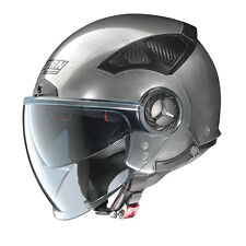 CASQUE DEMI-JET NOLAN N33 EVO CLASSIC 6 - Scratched Chrome TAILLE S