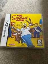 The Simpsons Game (Nintendo DS, 2007) Complete In Vgc