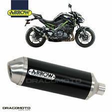 KAWASAKI Z 900 E 2017 2018 Silenziatore ARROW RACE-TECH ALU Nero
