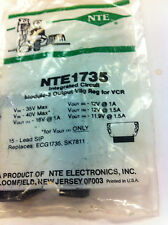 Nte1735 or Nte-1735 or Ecg1735 or Sk7811 Ingegrated circuit module all new parts