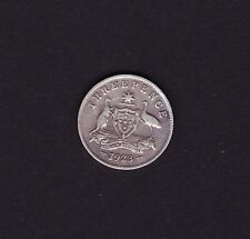 1923 Australian Threepence George V