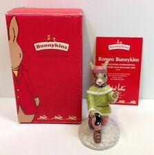 "Royal Doulton Bunnykins ""Romeo"" Figurine DB284 Box & Certificate."