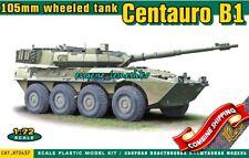 ACE 72437 Centauro B1 105mm Wheeled Tank AFV Early Series Plastic Model Kit 1/72